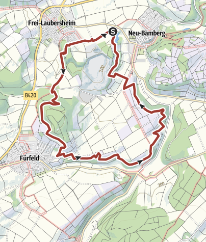 Karte / Hiwweltour Eichelberg