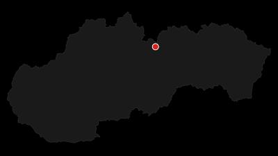 Mapa / Hikes in valleys - To Veľké Hincovo pleso
