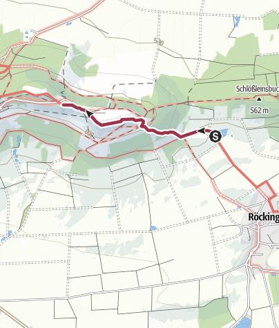 Karte / Hesselbergaufstieg-SO-Roeckingen_Badeweiher