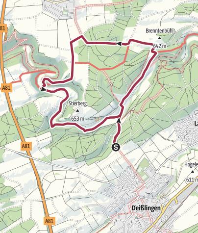 Karte / Im Eschachtal