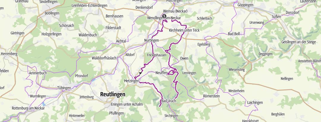 地图 / Tour am 21.09.2011 um 15:00 gespeichert