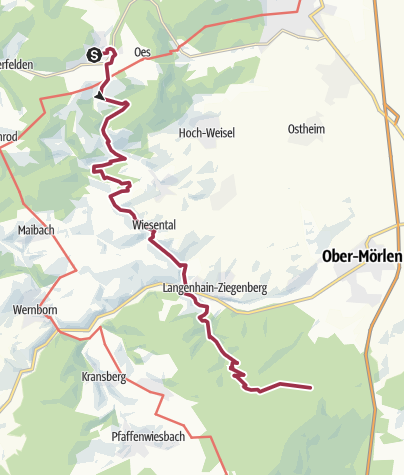 Karte / Gaulskopf Espa - Forsthaus Winterstein