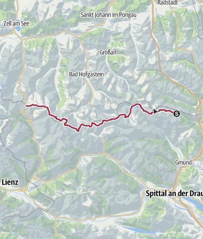 Map / Tauernhöhenweg