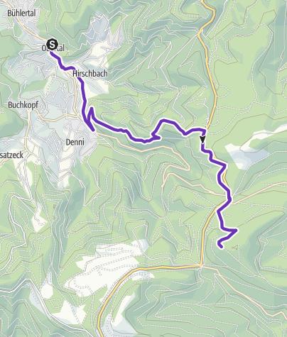 Karte / Berglauf-WM-2012