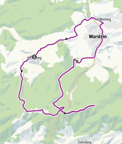 Map / SMV 4 Hirschberg-Lörmecketurm-Runde