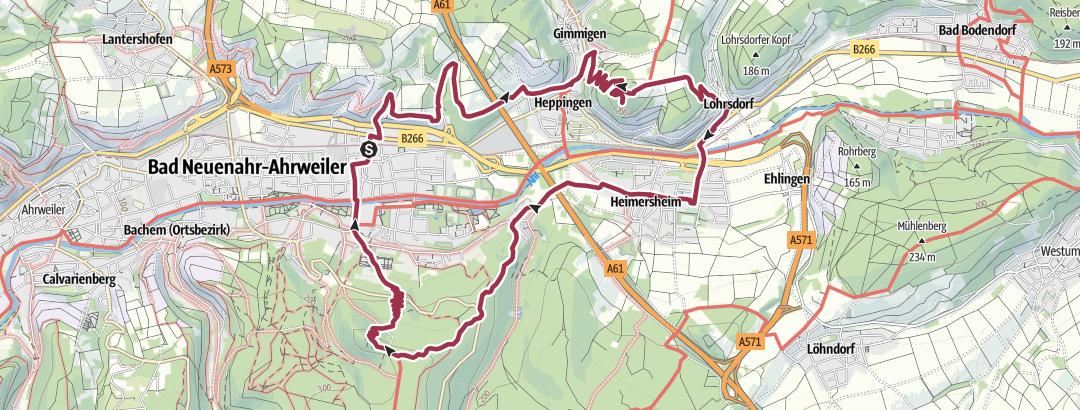 Térkép / Neuenahr