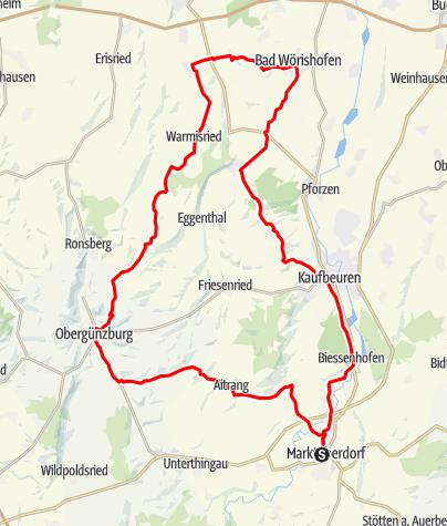 Karte / Himmelstour