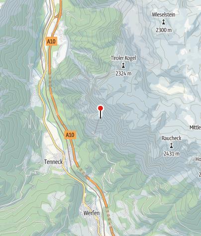 Karte / Dr. Oedl-Haus 1575 m