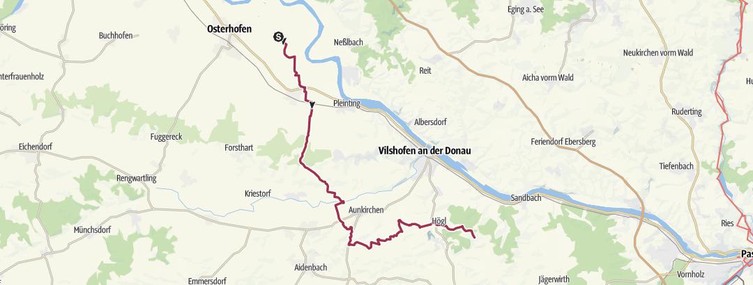 Karte / Eging 3, Arbing - Ponderosaranchh