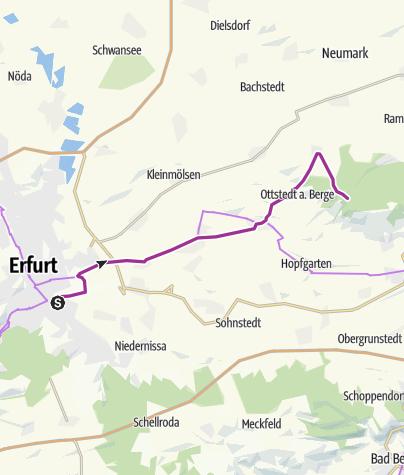 Karte / Buchenwald