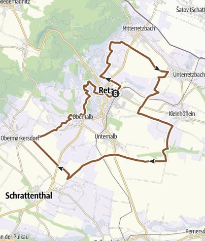 Karte / Retzerrunde