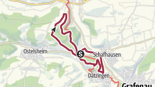 Карта / Evi's Weg bei Schafhausen