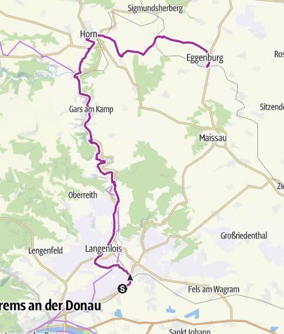 Karte / KamptalHorn Eggenburg 7.6.2012