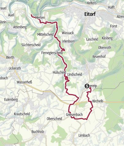Karte / Krabachtal