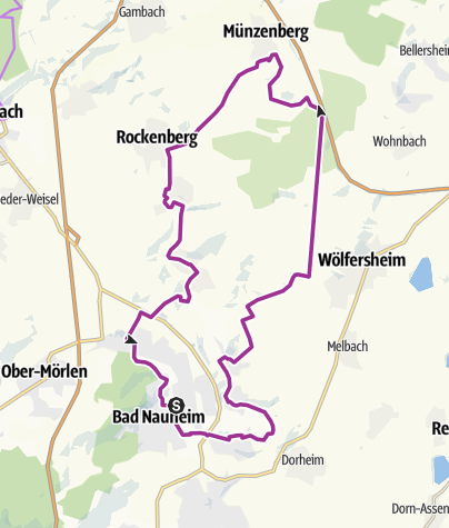 Map / MünzenbergTour