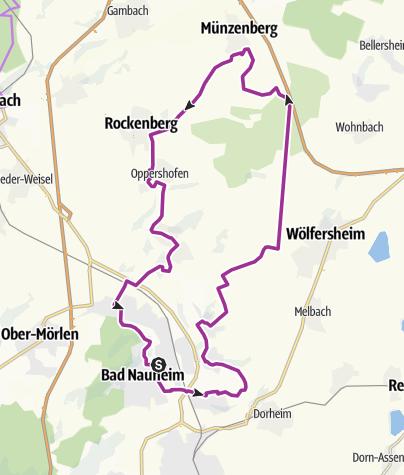 Karte / MünzenbergTour