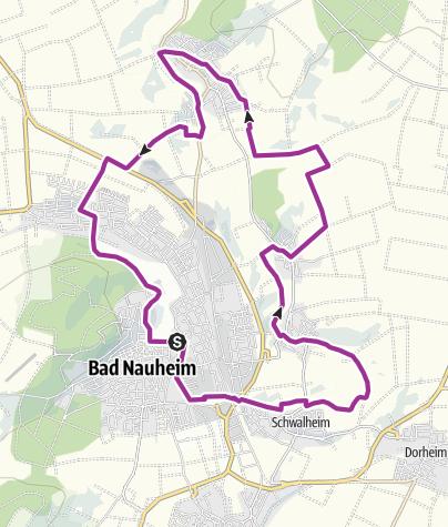 Karte / Salzradweg