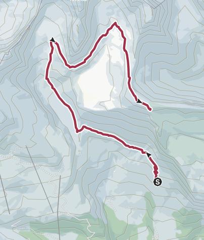 Karte / Segnesboden und Cassonsgrad