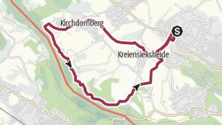 Karte / Heilig Geist in Bewegung 11,5 km leicht hügelig im Bielefelder Westen