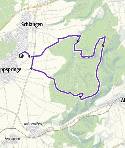 Karte / Windräder, Noak, Messerkerl, Dumberg, Steinbeke, See