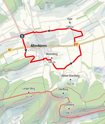 Karte / Brilon-Altenbüren (Ab1)