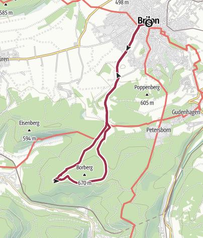 Karte / Brilon (B1)
