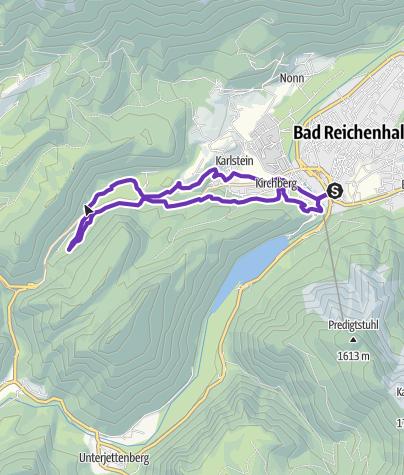 Karte / Kleiner Thumseetrail