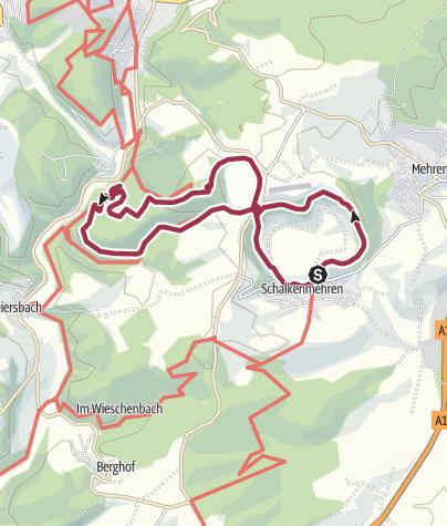 Karte / 3 Maare Rundwanderung