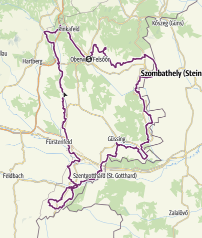 Karte / Paradiesroute