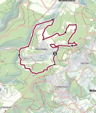 Karte / Spitzbubenweg 13/14 Münchwies