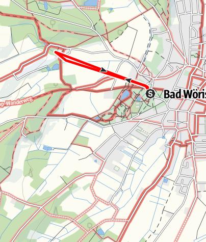 Karte / Barfuß-Wanderweg zum Tannenbaum