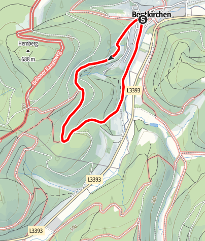 Karte / Brilon-Bontkirchen (Bk2)