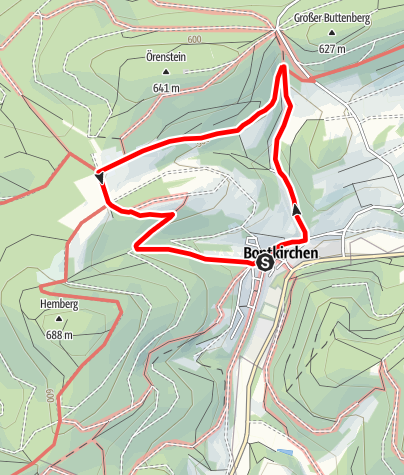 Karte / Brilon-Bontkirchen (Bk4)