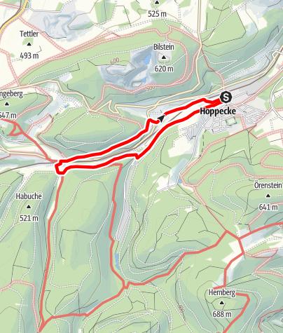 Karte / Brilon-Hoppecke (H2)