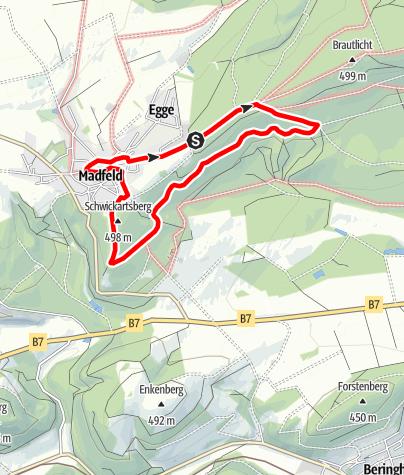 Karte / Brilon-Madfeld (M4)
