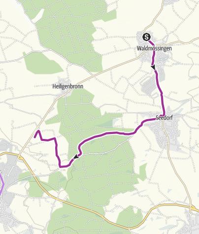 Karte / Waldmössingen-Seedorf-Vier Häuser-Brambach