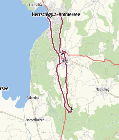 Karte / Herrsching - Maimoos - Herrsching (Kurz)