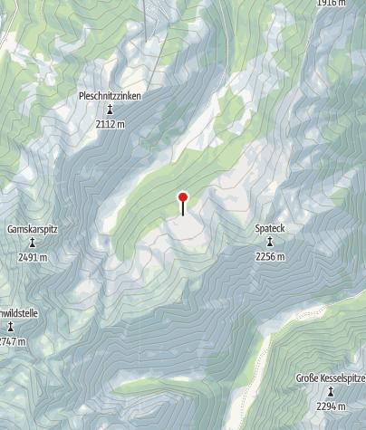 Karte / Neue Jagdhütte 1735 m