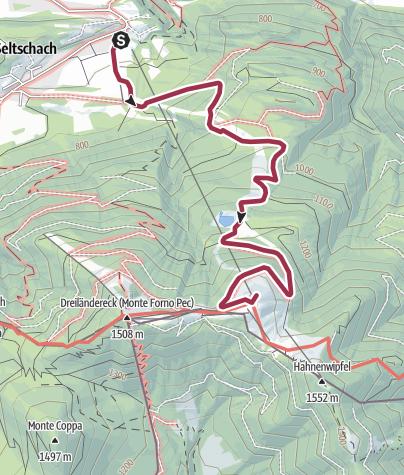 Map / Hike & Fly Dreiländereck