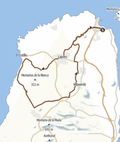 Karte / Fuerte Sand und Steine No.1