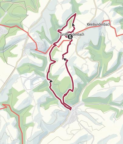 Karte / Steinkallenfelstour