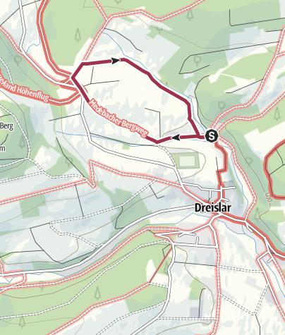 Karte / Dreislar, A13-Libberkeweg
