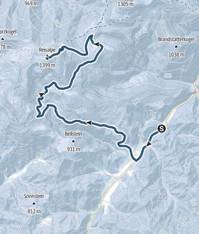 Karte / Reisalpe-Traisenbeck