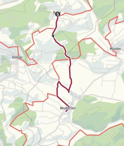 Karte / Von Berge nach Neukirchen