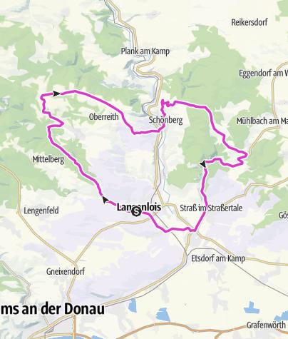 Karte / Langenlois - LANLAN_041_0542 (Kleine 3 Täler-Runde)