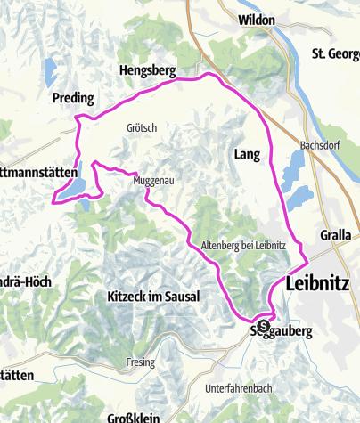 Karte / Sulmseetriathlon Olympische Distanz1