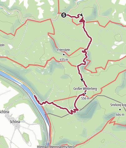 Karte / Schmilka 2013