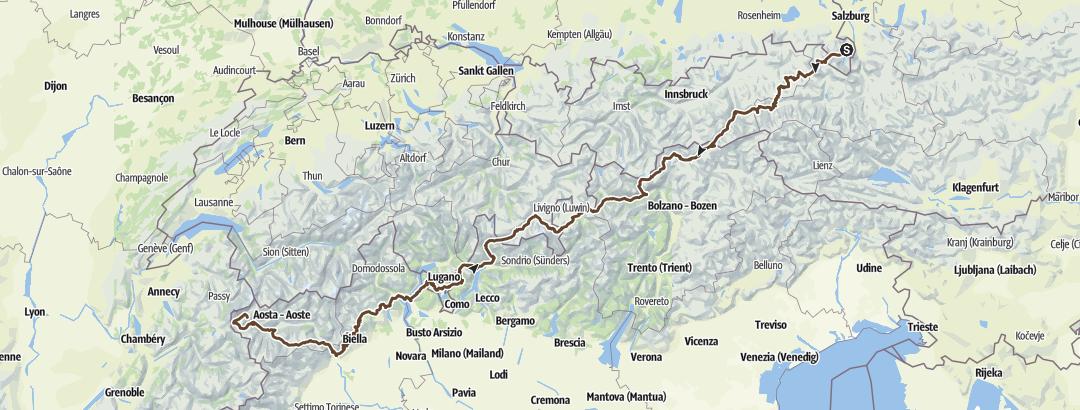 Map / AX_WATZMANN - MONT BLANC