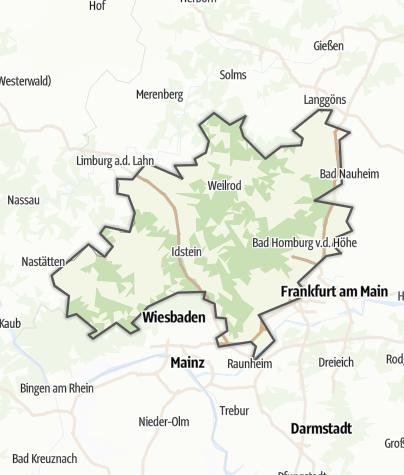 Karte / Taunus