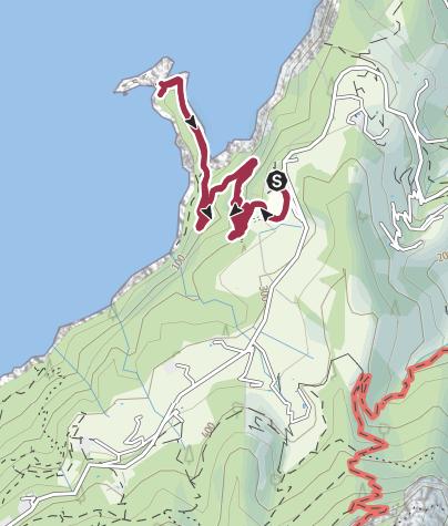 Karte / Na Foradada - Ankerplatz für Nixen